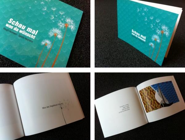 Schau mal was da wünscht - ein Bilderbuch mit Reimen von Margit Heumann